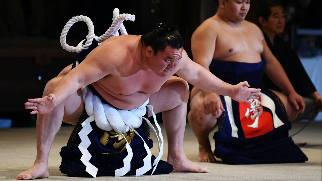 Sumo Wrestlers, Trainees and a Stable Masters Contracted the Coronavirus.afp