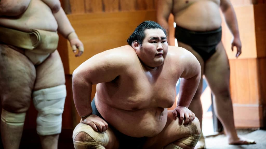 Sumo Wrestling ©AFP