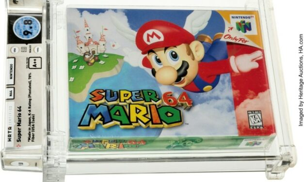 'Super Mario' Cartridge Sold for Video Game Record $1.5 Million