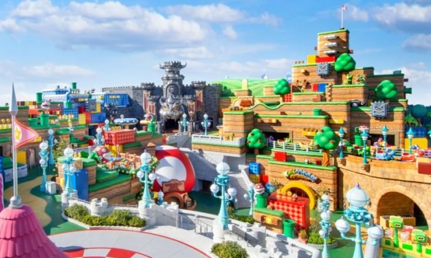 Super Mario Theme Park Coming to Universal Studio Japan