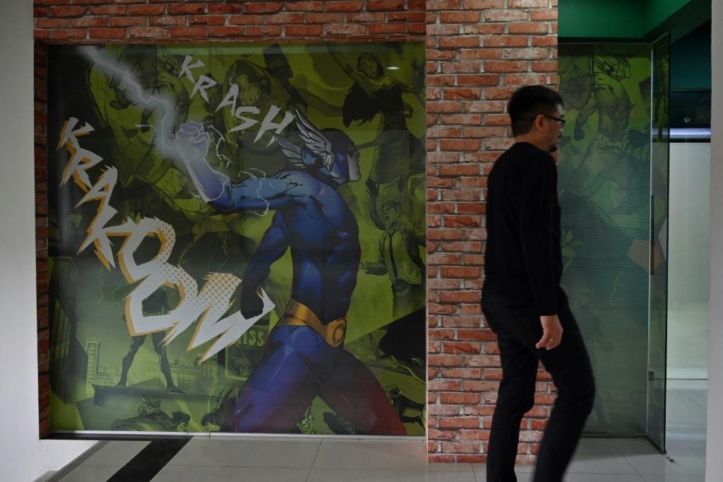 Superhero movies in Indonesia.afp