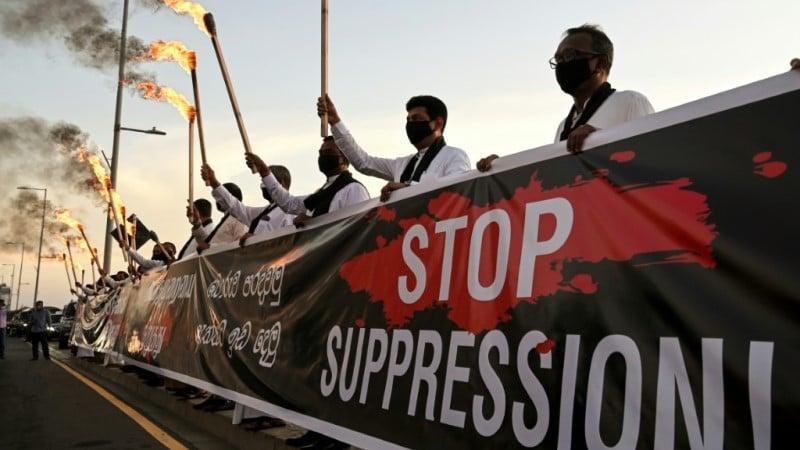 Suppression of Dissent