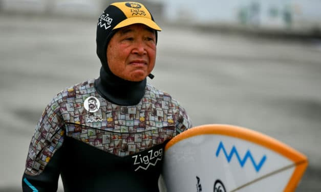 Surfing in Fukushima 9 Years After Nuclear Accident
