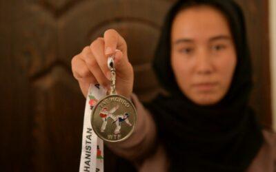 Afghan Women Taekwondo Fighters Feel Defeated by Taliban