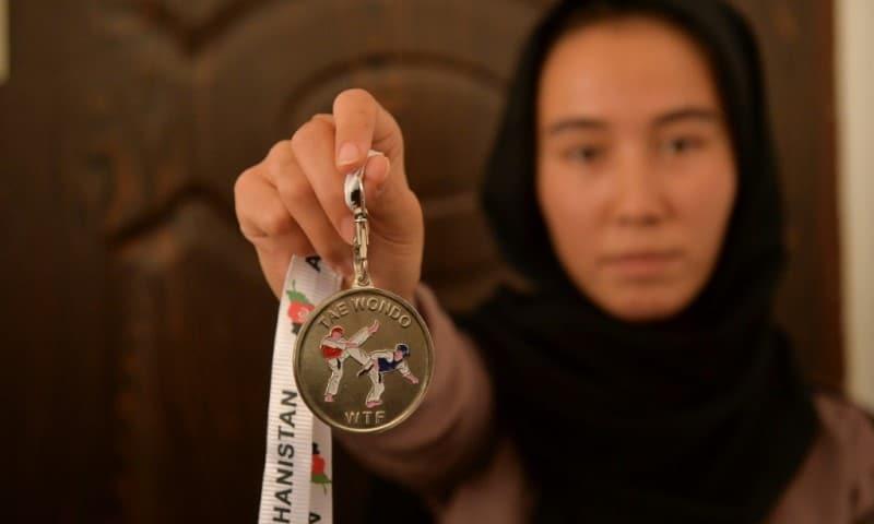 Taekwondo Champion Zarghunna Noori