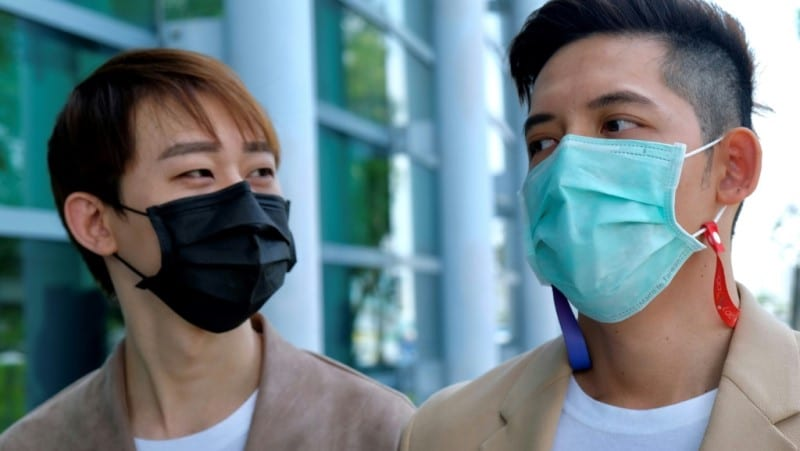 Taiwan-Macau Gay Couple
