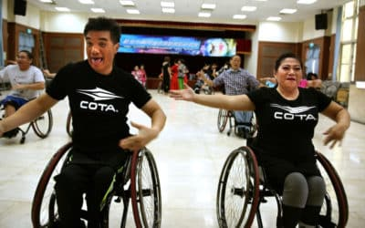 Taiwan's Wheelchair Athletes Dancing Their Way to World Championship