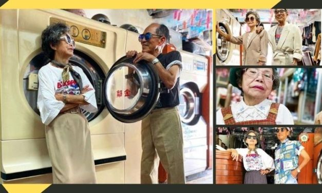 Taiwan Grandparents Find Fame in Modeling Abandoned Clothes