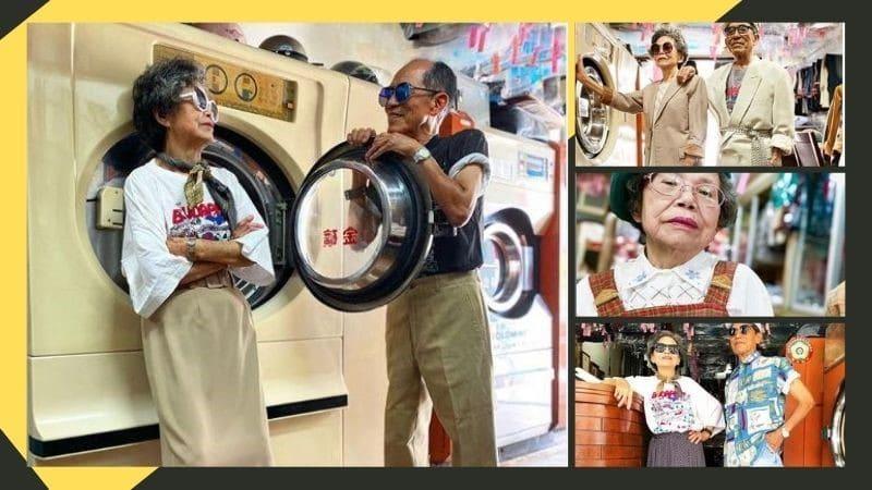 Taiwanese Laundromat Grandparents
