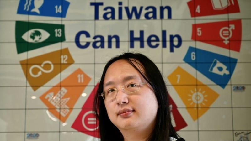 Taiwan's Digital Minister Audrey Tang.afp
