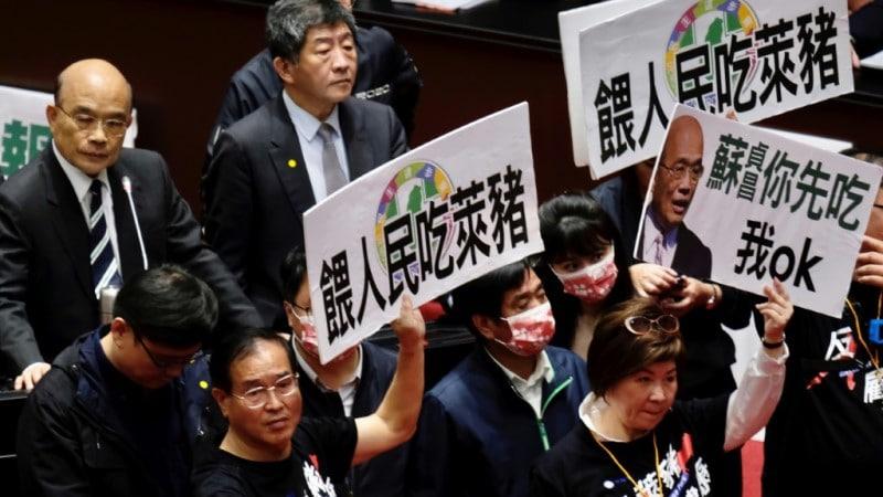 Taiwan's KMT Legislators