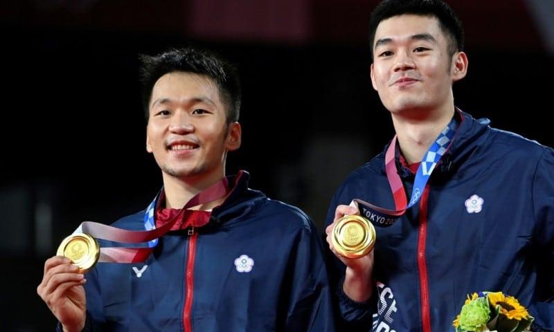 Taiwan's Lee Yang and Wang Chi-lin
