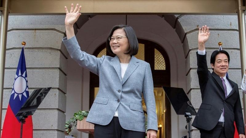 Taiwan's President Tsai Ing-wen.afp