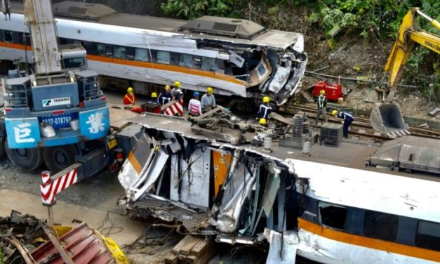 Taiwan Truck Driver Charged with Negligent Homicide over Rail Crash