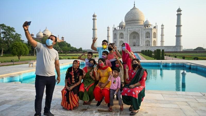 Taj Mahal Reopened to Visitors