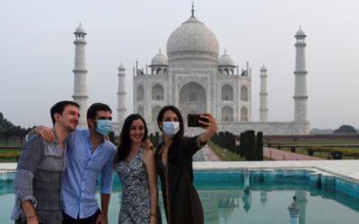 Taj Mahal Reopens Even as India Coronavirus Cases Soar