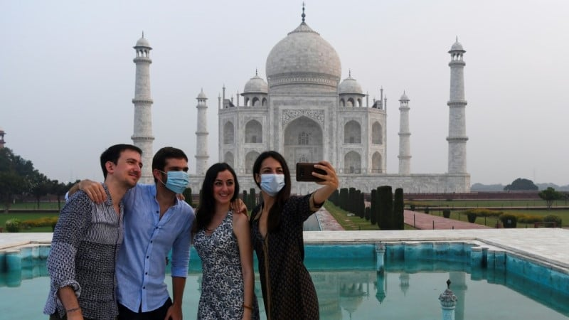 Taj Mahal Reopened to Visitors