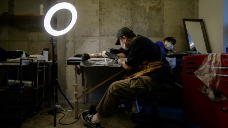 Tattooing a Growing industry in South Korea