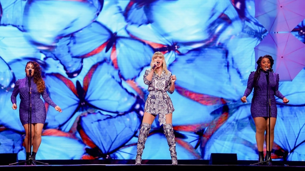 Taylor Swift Performs on Singles' Day ©AFP