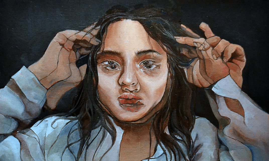 Taylor Wang - Inspired by Alex Garant & Gustave Courbet's 'The Desperate Man'