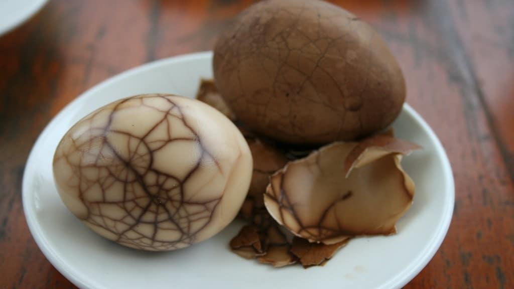 Tea Eggs Taiwan - Carolyn