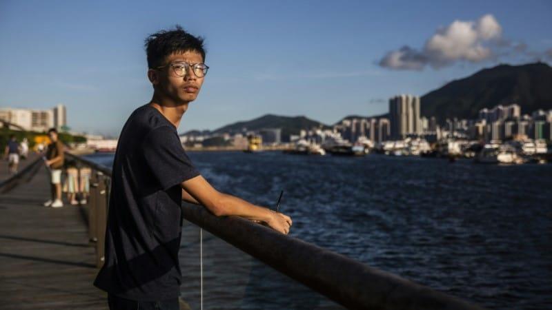 Teenage Activist Tony Chung