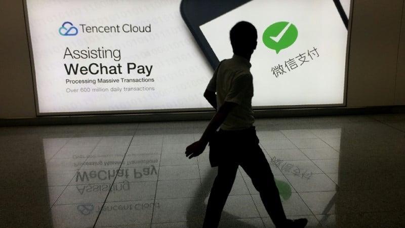 Tencent's WeChat.afp