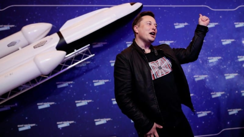 Tesla and SpaceX Boss