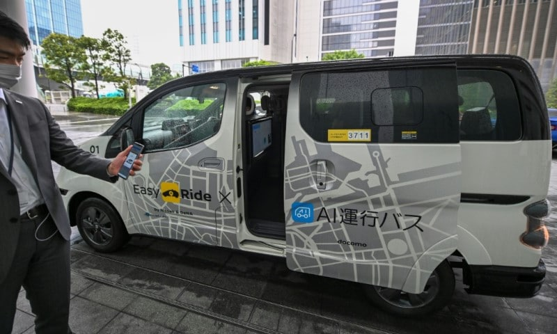Testing a Japanese Autonomous Car