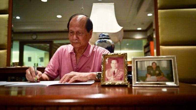 Thai Police Officer Sompol Suthimai