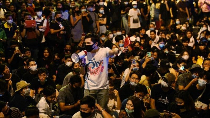 Thai Pro-Democracy Student Activists