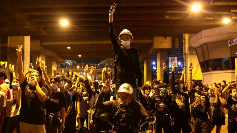 Thai Pro-democracy Protest