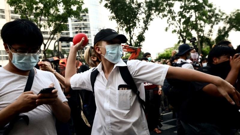 Thai Pro-democracy Protesters