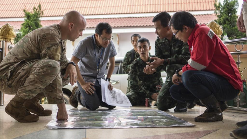 Thai Rescue Operation -Dept of Defense