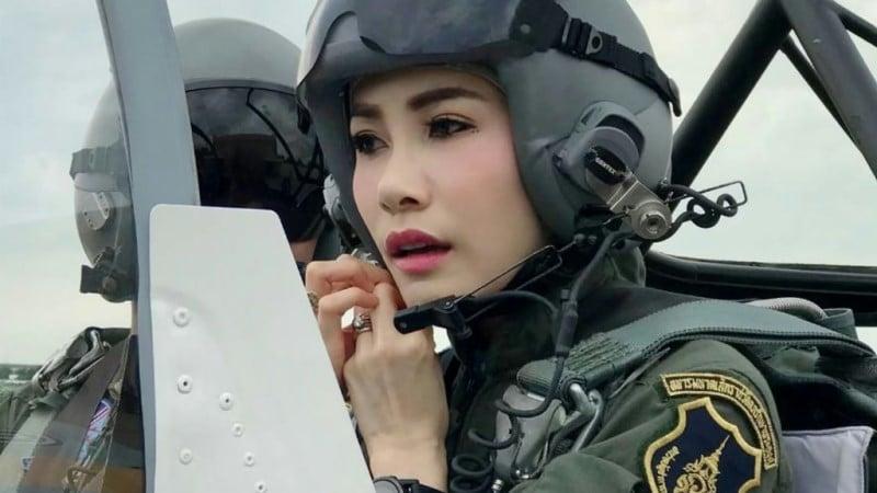 Thai Royal Consort Sineenat Wongvajirapakdi