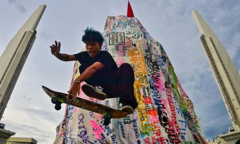 Thai Skateboarder