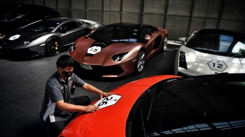Thailand Billionaires Supercars
