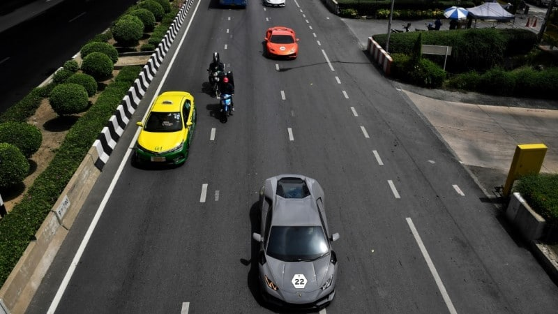 Thailand's Lamborghini Convoy