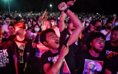 Young and Restless: Protest Parallels in Thailand and Hong Kong