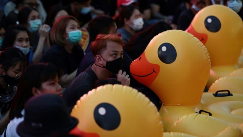 Thailand's Rubber Duck Revolution