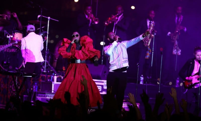The Fugees at Global Citizen Live Festival