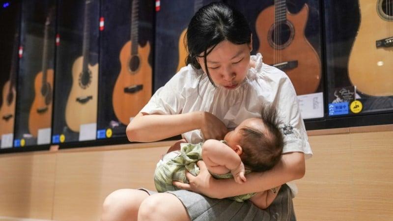 Mother Breastfeeding