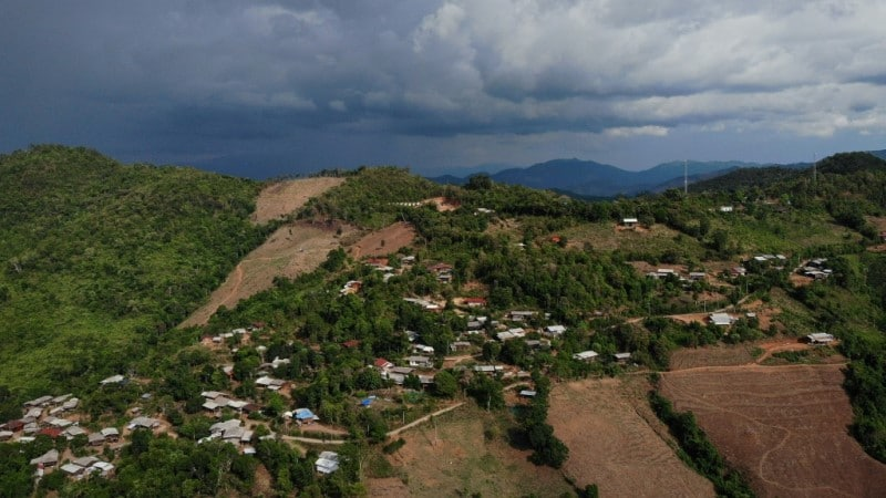 The Northern Village of Huay Pakoot a Home for Some Elephants.afp