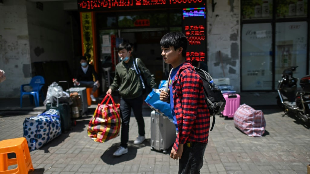 The Pandemic Hit China's Factories Hard.afp