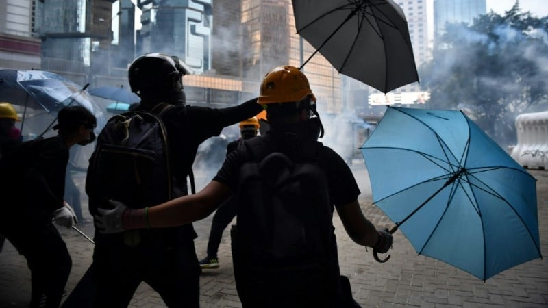 The Start of Hong Kong's Protests.afp