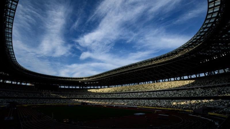 The Tokyo Olympic Stadium