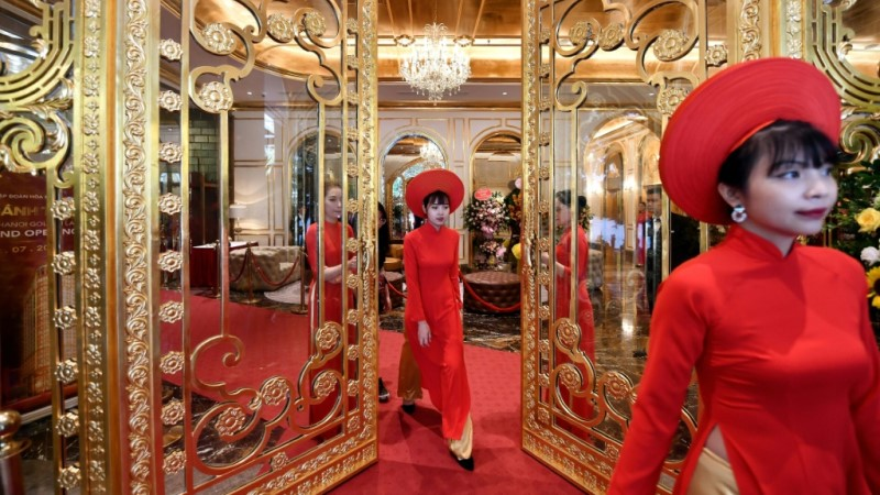 The World's First Self-Proclaimed Gold-Plated Hotel.afp