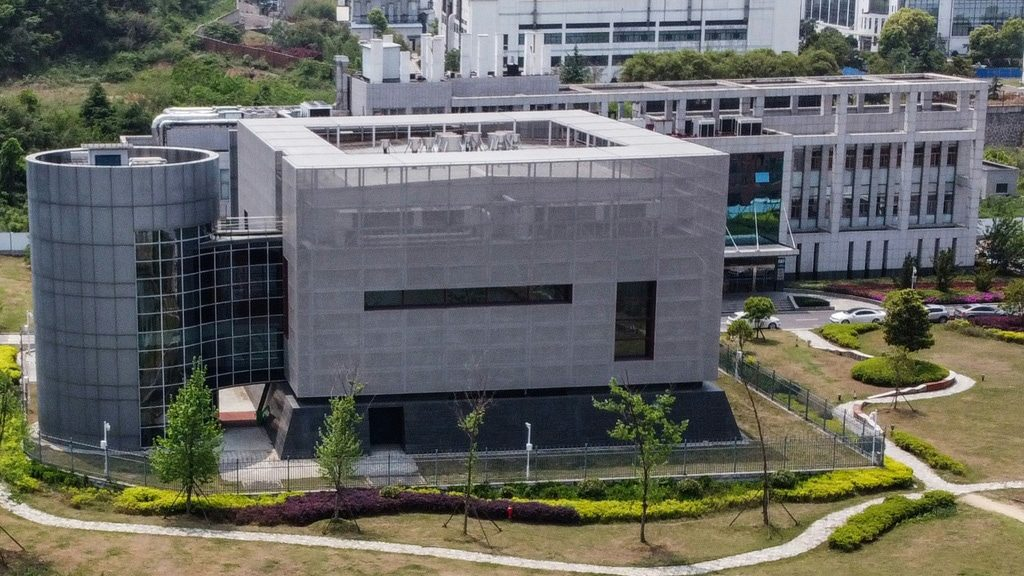 The Wuhan Institute of Virology.afp
