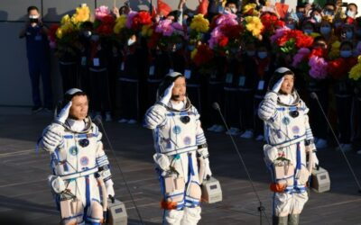 Chinese Astronauts Complete Three-Month Space Mission