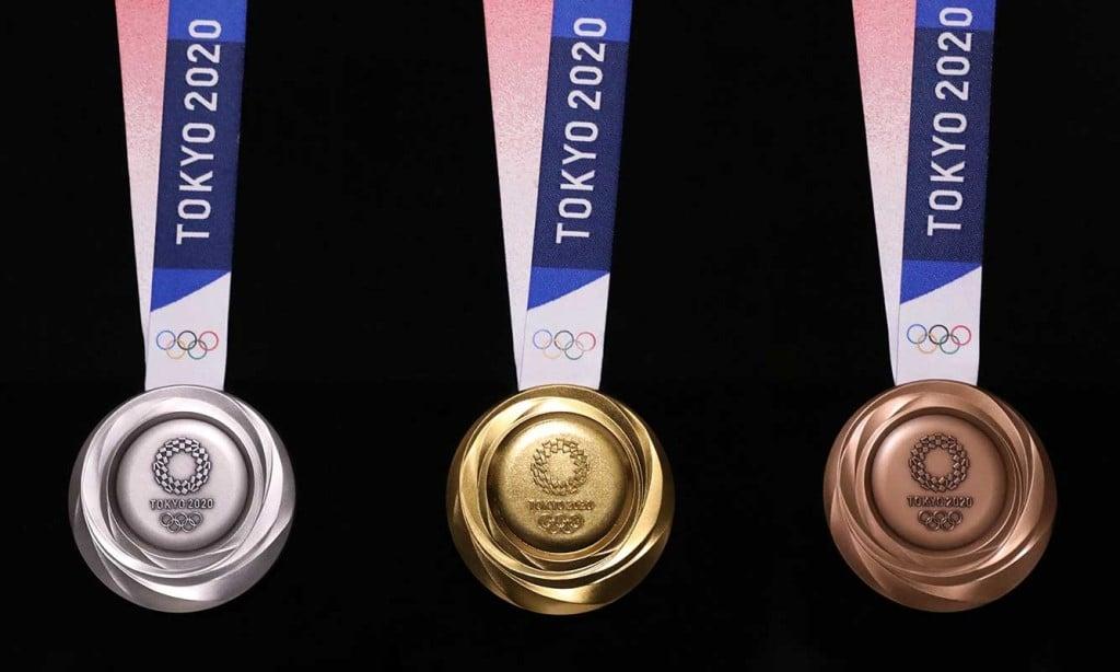 Tokyo 2020 Medals ©Tokyo2020